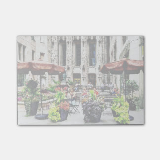 Chicago - Enjoying Lunch on the Magnificent Mile Post-it® Notes
