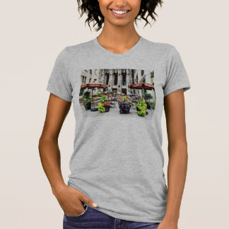 Chicago - Enjoying Lunch on the Magnificent Mile Tee Shirt