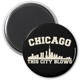 Chicago: Esta ciudad sopla Imanes
