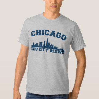Chicago: Esta ciudad sopla Polera
