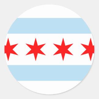 Chicago Estados Unidos Etiqueta