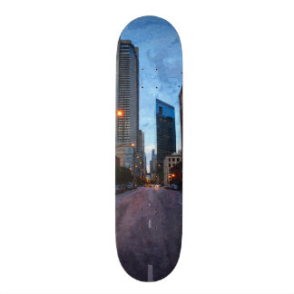 Chicago Evening Drive Skateboard Deck