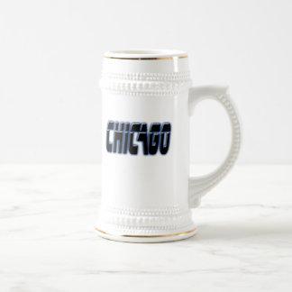 Chicago Fan Beer Stein