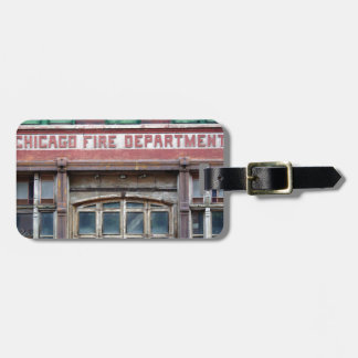 Chicago Fire Station Tag For Bags