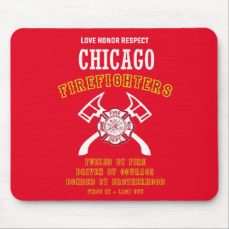 Chicago Firefighters Mousemat Mouse Pad