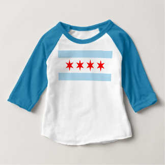 Chicago Flag Baby T-Shirt