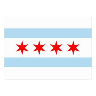 Chicago Flag Business Cards