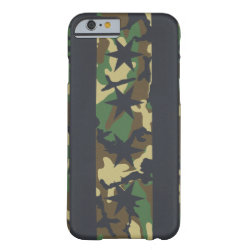 Chicago Flag Camouflage Barely There iPhone 6 Case