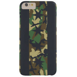 Chicago Flag Camouflage Barely There iPhone 6 Plus Case