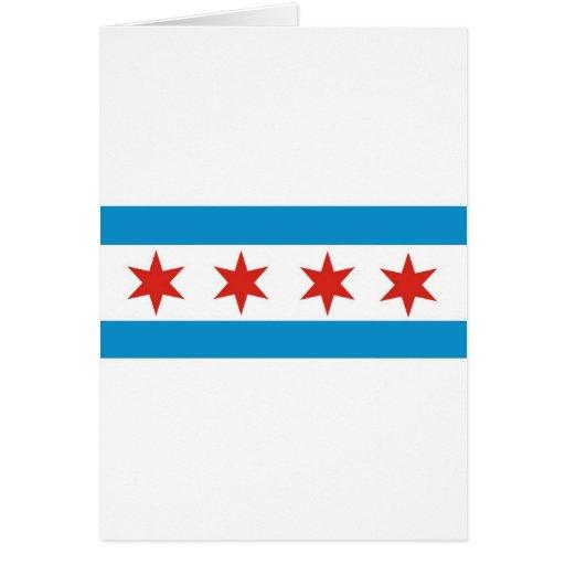 chicago flag cards
