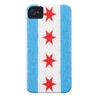 Chicago Flag Blackberry Case