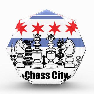 Chicago Flag & Chess Board Award