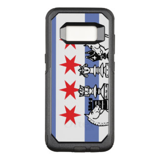 Chicago Flag Chess OtterBox Commuter Samsung Galaxy S8 Case