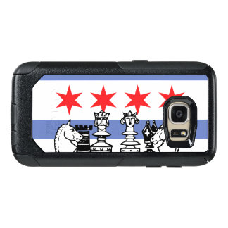 Chicago Flag Chess OtterBox Samsung Galaxy S7 Case