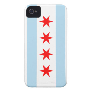 Chicago Flag Color - iPhone 4 iPhone 4 Cases