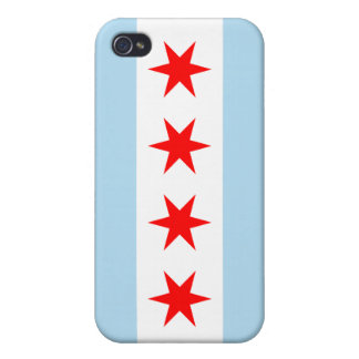Chicago Flag Color - iPhone 4 Cases For iPhone 4