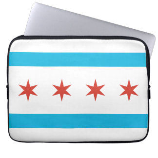 Chicago Flag Computer Sleeve