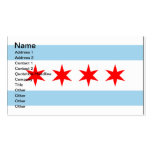 Chicago Flag customizable business calling cards Double-Sided Standard Business Cards (Pack Of 100)
