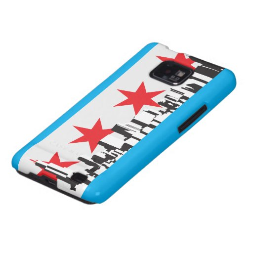 Chicago Flag Galaxy S2 Cover
