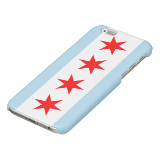 Chicago Flag Glossy iPhone 6 Case
