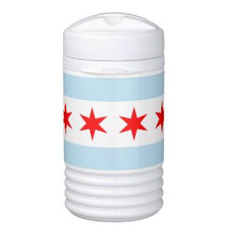 Chicago Flag Igloo Beverage Cooler