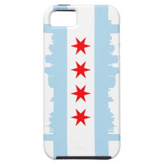 Chicago Flag iPhone 5 Case-Mate Tough™ iPhone 5 Cases