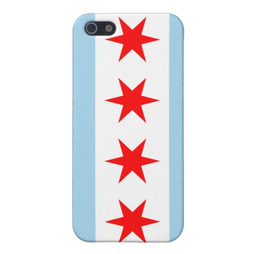 Chicago Flag iPhone 5 Cases