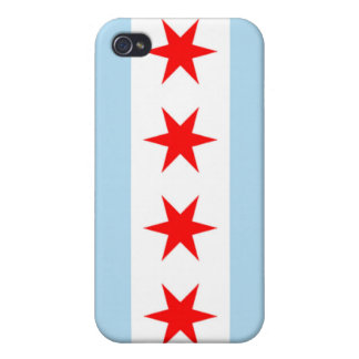 Chicago Flag Iphone Case iPhone 4 Cover