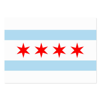 Chicago Flag Large Business Cards (Pack Of 100)
