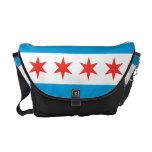 Chicago Flag Messenger Bag at Zazzle