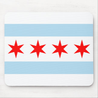 Chicago Flag Mouse Pad