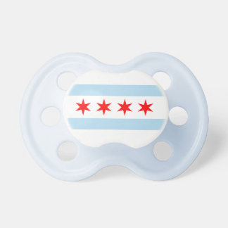 Chicago Flag Pacifier