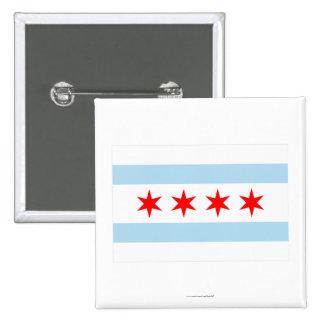 Chicago Flag Pin