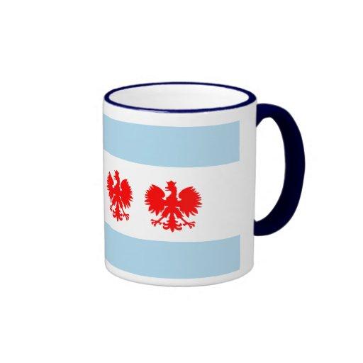 Chicago Flag Polish style mug