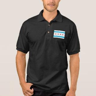 Chicago Flag Polo Shirt