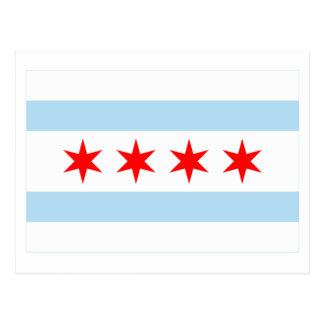 Chicago Flag Post Card