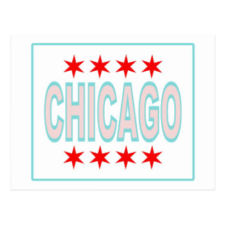 Chicago Flag Postcard