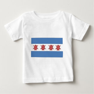 Chicago Flag PSYOP Baby T-Shirt