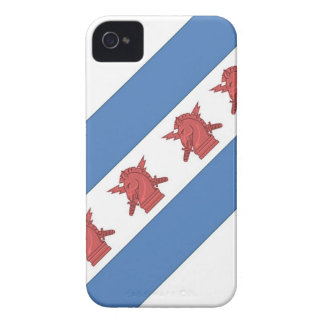 Chicago Flag PSYOP Case-Mate iPhone 4 Cases