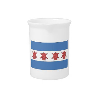 Chicago Flag PSYOP Pitchers
