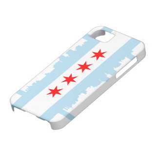 Chicago Flag Skyline Case-Mate iPhone 5 iPhone SE/5/5s Case