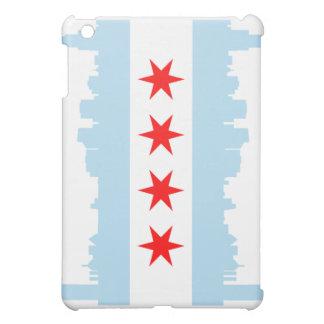 Chicago Flag Skyline iPad Mini Covers