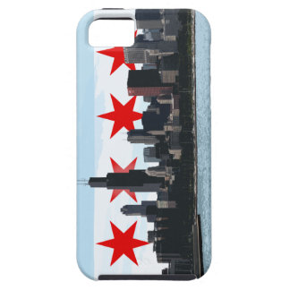Chicago Flag Skyline iPhone case iPhone 5 Cover