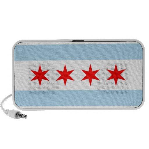 Chicago Flag Speaker