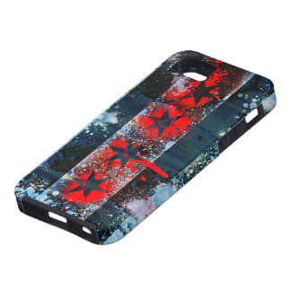 Chicago Flag Spray Paint iPhone SE/5/5s Case