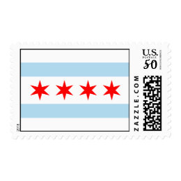 Chicago Flag Stamps