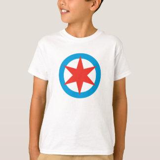 Chicago Flag Star T-Shirt