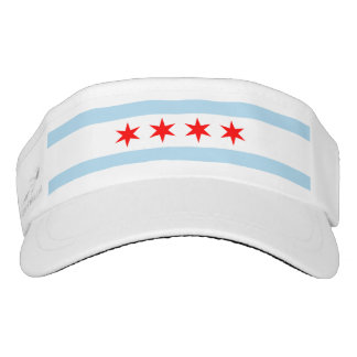 Chicago Flag Visor
