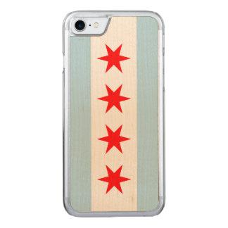 Chicago Flag - Wood Case