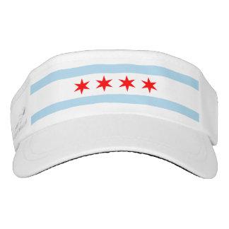 Chicago Flag Headsweats Visor